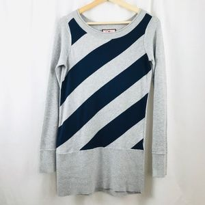 Juicy Couture Diagonal Line Top Sweater